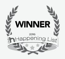 Winner 2016 Philly Happening List