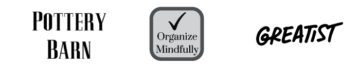 Pottery Barn - Organize Mindfully - Greatist
