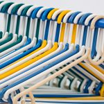 Empty Clothing Hangers Take up Space