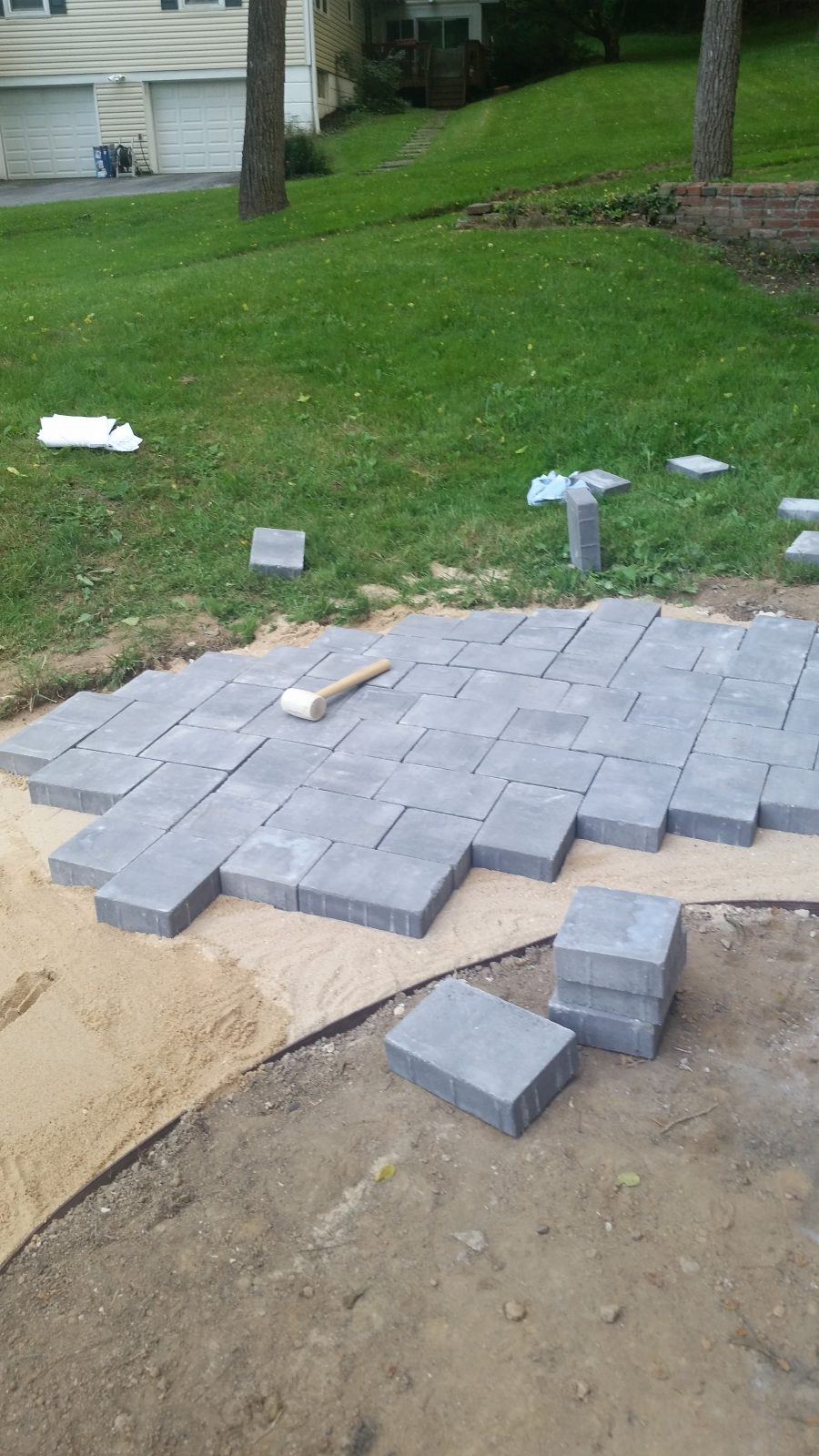 Pavers for front walk