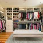 Master Closet organized by Jennifer Truesdale