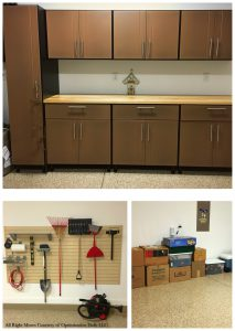 Even your new garage can be professionally organized!