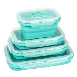 Stop fighting with food storage. Try these collapsible containers.